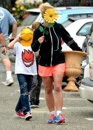 Editorial photo of Britney Spears out and about, Los Angeles, America - 04 Jun 2015