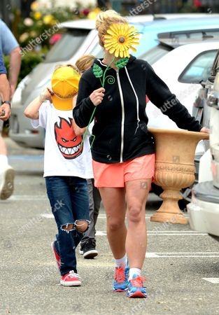 Stock Image of Britney Spears, Jayden James Federline
