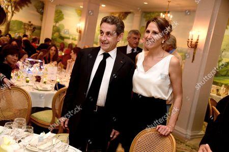Nicolas Sarkozy and Maud Fontenoy