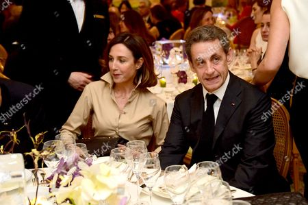Nicolas Sarkozy and Elsa Zylberstein