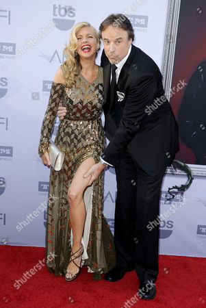 Stock Picture of Kevin Nealon and wife Susan Yearly