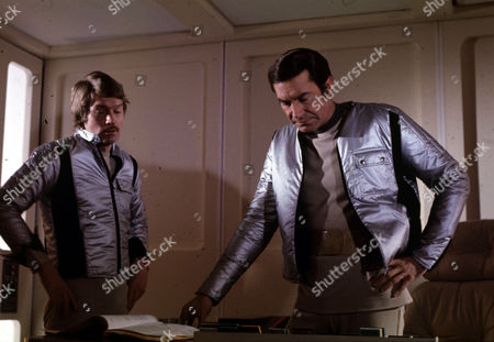 Prentis Hancock and Martin Landau in Black Sun