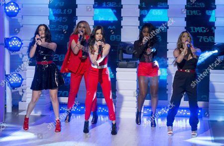 Fifth Harmony - Ally Brooke Hernandez, Normani Kordei, Dinah Jane Hansen, Camila Cabello, and Lauren Jauregui.