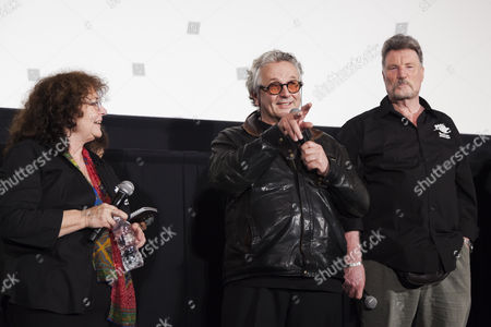 Joanne Samuel, George Miller and Vernon Wells