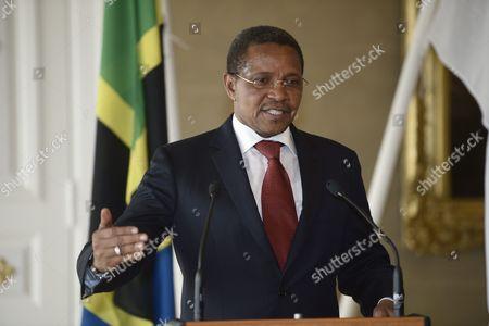 Tanzanian president Jakaya Mrisho Kikwete