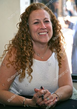 Editorial image of Jodi Picoult and Samantha Van Leer promote their book 'Off the Page', Reading, Britain - 05 Jun 2015