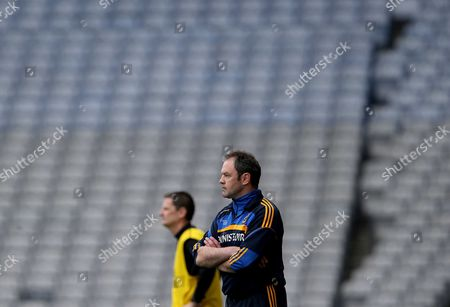 Roscommon manager Justin Campbell
