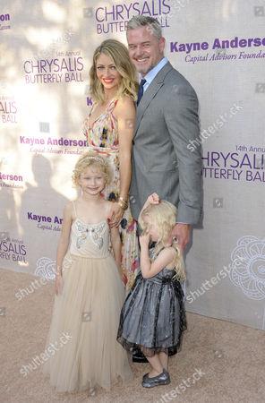 Rebecca Gayheart, Eric Dane with daughters Billie Dane and Georgia Dane
