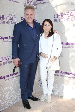 Patricia Heaton and husband David Hunt