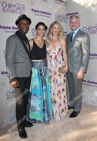 Aloe Blacc, Maya Jupiter, Eric Dane and Rebecca Gayheart