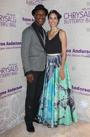Aloe Blacc and wife Maya Jupiter