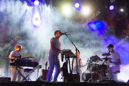 """Caribou performing live at Field Day Festival Saturday Day 1. Caribou is Daniel Victor """"Dan"""" Snaith, a Canadian composer, musician and recording artist who has performed under the stage names Caribou, Manitobaand Daphni."""