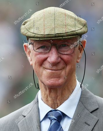 Jack Charlton attends the game