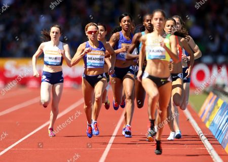 Great Britain Jenny Meadows during the Women's 800m