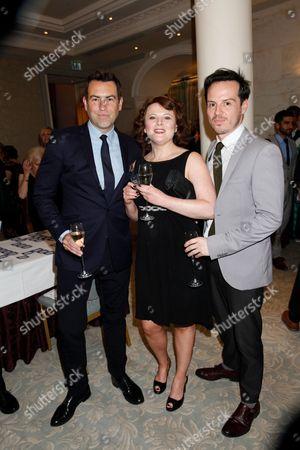 Stephen Beresford, Monica Dolan and Andrew Scott