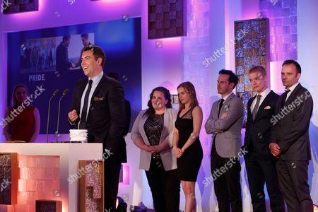 Stephen Beresford and Jessica Gunning, Faye Marsay, Andrew Scott, Freddie Fox,, Matthew Warchus