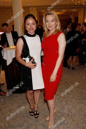 Zoe Tapper and Sophia Myles