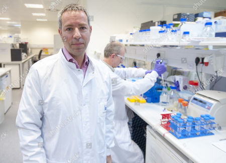 Dr Mene Pangolas Executive Vice President Of Innovative Medicines And Early Development In The Medimmune Laboratory Biologic Centre Of Pharmaceutical Company Astrazeneca In Cambridge. 16.5.14 Reporter Andrew Levy Exc Print Before Web.