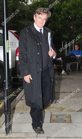 Lord Oakeshott Arrives Home On The Day He Resigned Following A Leaked Opinion Poll On Lib Dem Leased Nick Clegg.