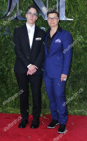 Editorial picture of 69th Annual Tony Awards, New York, America - 07 Jun 2015