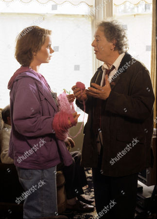 Celia Imrie and Ray Brooks