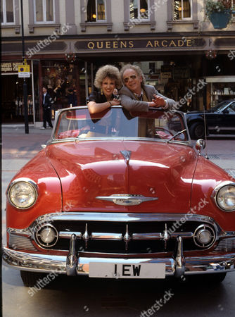 Anita Dobson and Ray Brooks