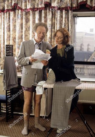 Ray Brooks and Celia Imrie