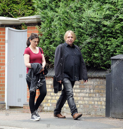 Editorial image of Jayne Middlemiss out and about in Primrose Hill, London, Britain - 08 Jun 2015