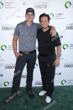Brendan Fehr and Scott Wolf