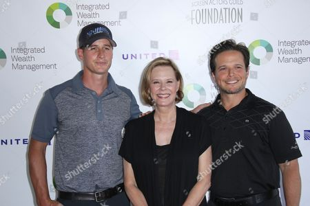 Brendan Fehr, JoBeth Williams and Scott Wolf
