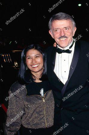 John Astin and wife Valerie Ann Sandobal