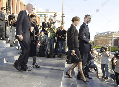 Editorial image of Funeral of Kardam, Prince of Turnovo, Madrid, Spain - 08 Jun 2015