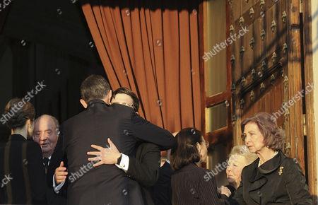 Boris of Bulgaria, Margarita Gomez-Acebo, Princess Beatrix, Queen Letizia, King Felipe VI, Former Queen Sofia and King Juan Carlos