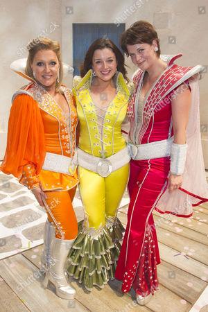 Editorial image of 'Mamma Mia' musical the Novello Theatre, London, Britain - 08 Jun 2015