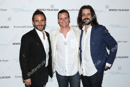 Stock Picture of Austin Stark, Benji Kohn and Tom Valerio