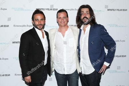 Austin Stark, Benji Kohn and Tom Valerio