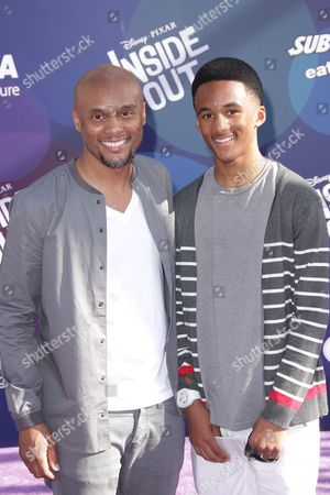 Kenny Lattimore and guest