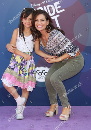 Stock Image of Constance Marie and Luna Marie Katich