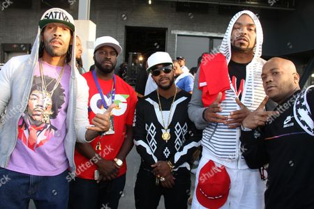 Redman, Funkmaster Flex, Omarion, Method Man and Styles P