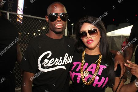Stock Photo of Welvin The Great and Lil Kim