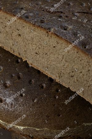 Mixed wheat and rye bread, made with sourdough, rye flour, wheat flour and spelt flour baked in a household oven