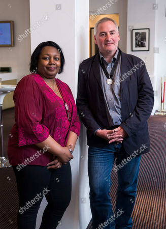 Malorie Blackman and Chris Riddell