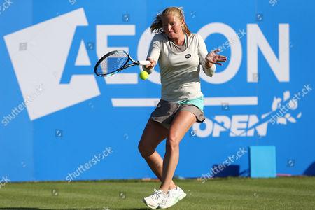 Alla Kudryavtseva of Russia in action