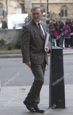Sir David Amess in Westminster
