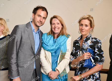 Chris Gorell Barnes - Blue trustee, Baroness Worthington and Martha Lane Fox