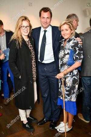 Naomie Allsopp, Henry Allsopp and Martha Lane-Fox