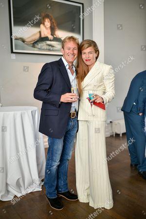 Alistair Gosling and Amber Nuttall - Blue Ambassador