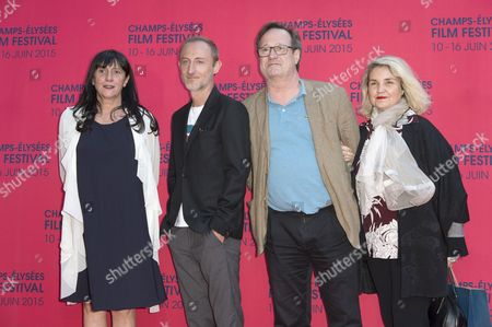 French producer Sylvie Pialat and French director Guillaume Nicloux