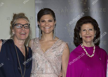 Marie Ledin, Crown Princess Victoria, Queen Silvia