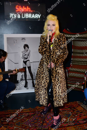 Stock Image of Pam Hogg, with Kate Garner photo of Kate Moss, estimate £2,500-£3,000